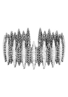 John Hardy Classic Chain Hammered Spear Large Flex Cuff