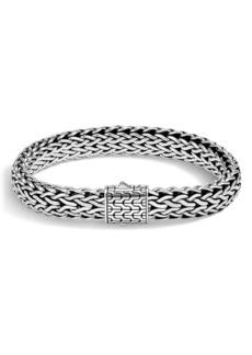 John Hardy Classic Chain Large Flat Chain Bracelet