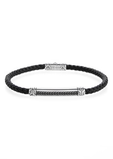John Hardy Classic Chain Leather Cord Bracelet