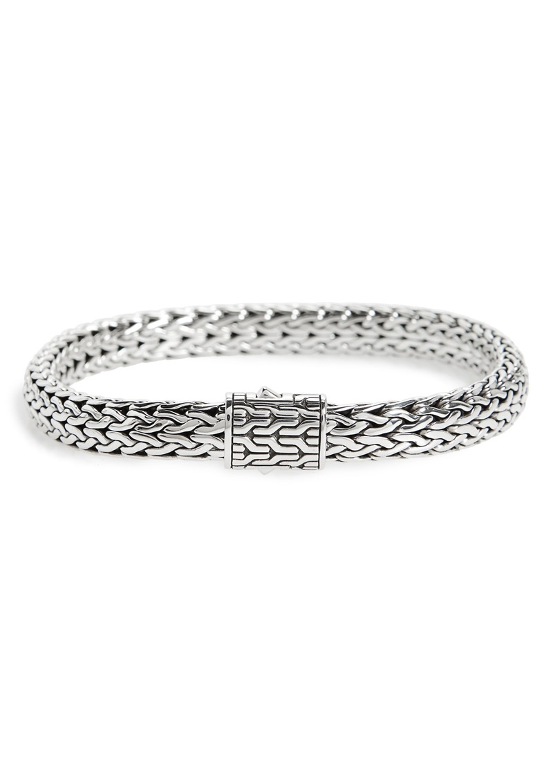 John Hardy Classic Chain Medium Flat Chain Bracelet