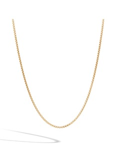 John Hardy Classic Chain Men's 18K Gold Necklace