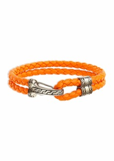John Hardy Classic Chain Men's Hook-Station Bracelet