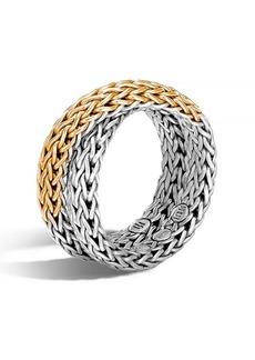 John Hardy 'Classic Chain' Overlap Ring