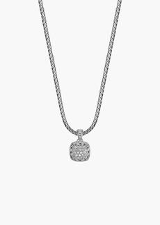 John Hardy 'Classic Chain' Pavé Diamond Pendant Necklace
