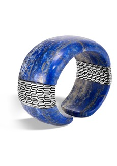 John Hardy Classic Chain Semiprecious Stone Cuff