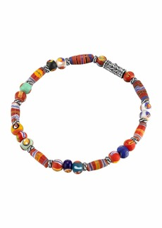 John Hardy Classic Chain Silver Bracelet with Borneo Beads