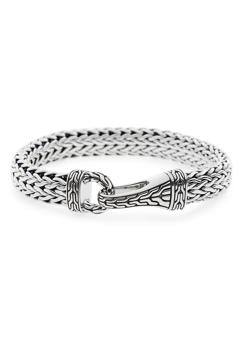 John Hardy Classic Chain Silver Hook Bracelet