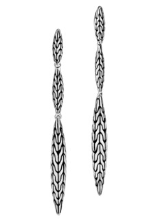 John Hardy Classic Chain Spear Drop Earrings