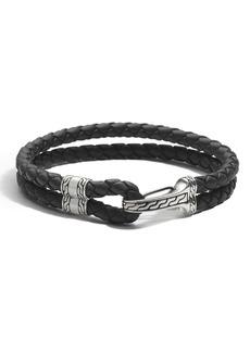 John Hardy Men's Classic Chain Station Bracelet