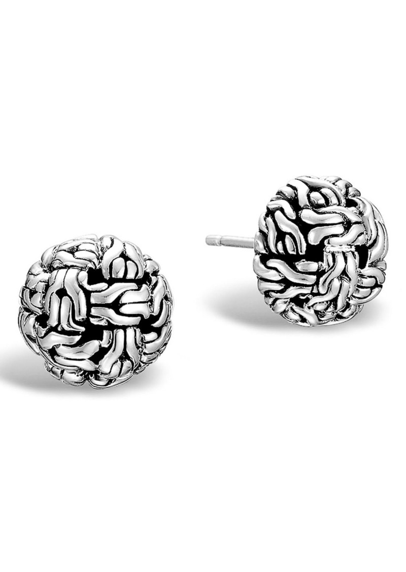 John Hardy 'Classic Chain' Stud Earrings