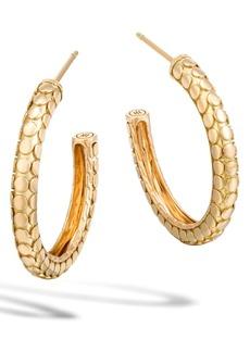 John Hardy Dot Collection Hoop Earrings