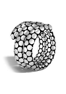 John Hardy Dot Double Coil Ring