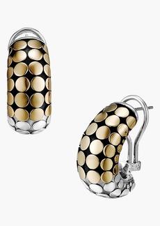 John Hardy 'Dot Gold & Silver - Buddha Belly' Earrings