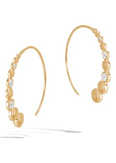 John Hardy Dot Hammered Small Hoop Earrings