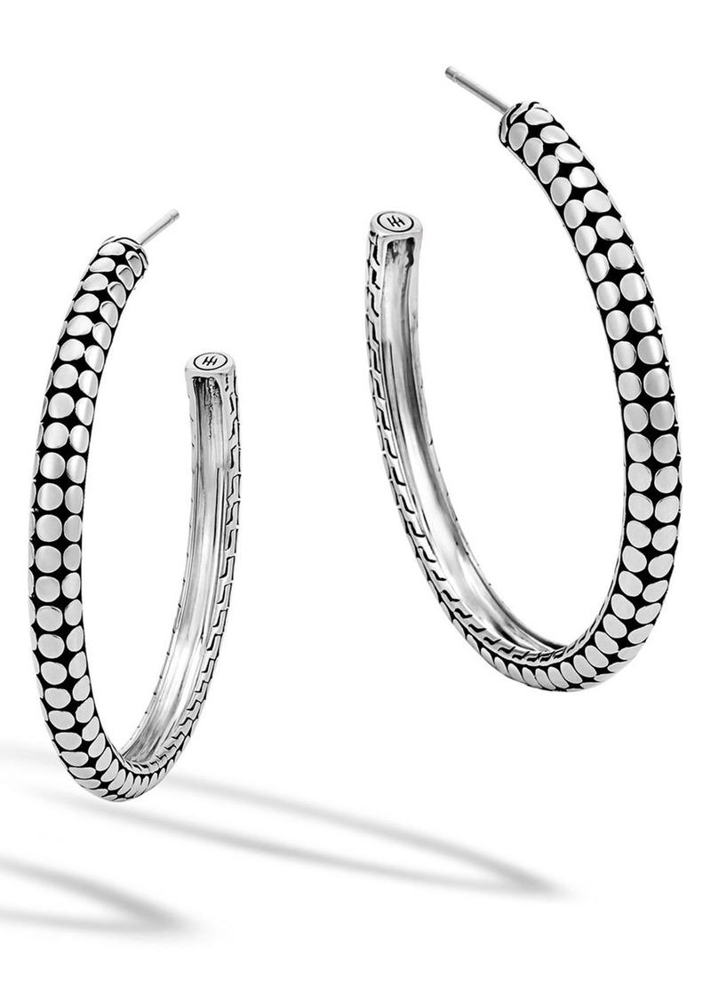 John Hardy 'Dot' Hoop Earrings