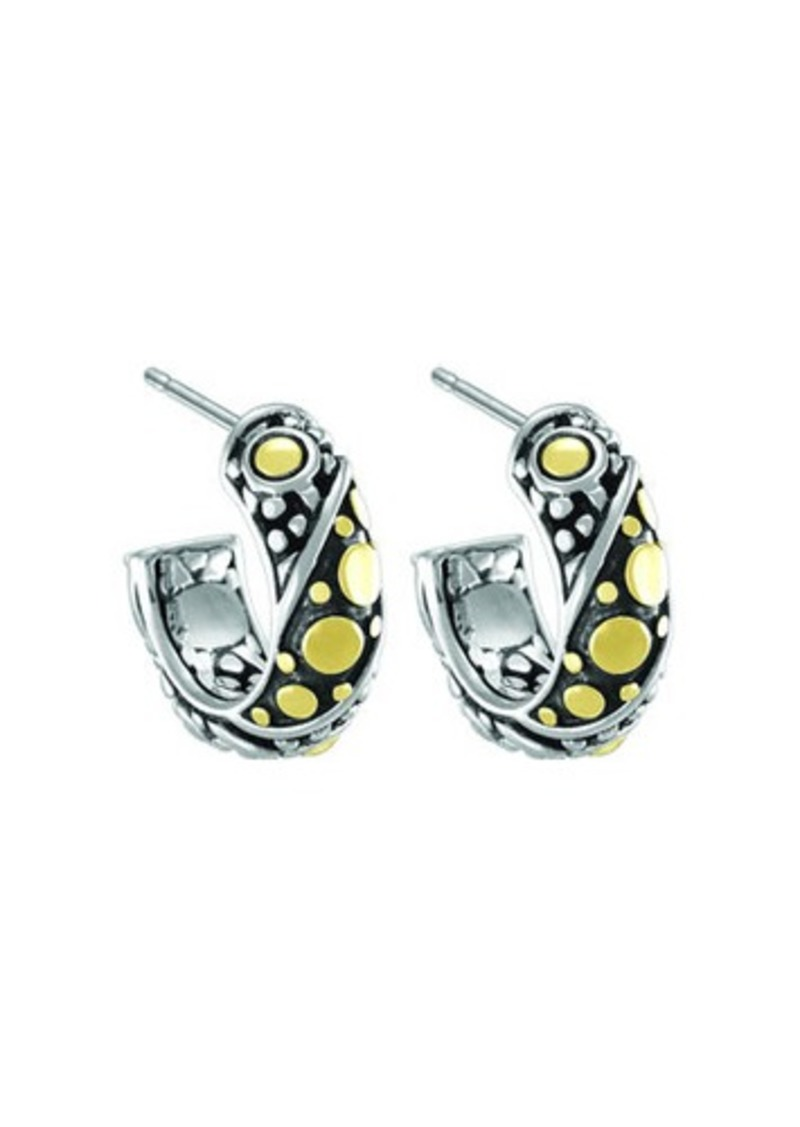 stud diamond earrings hardy classic chain yellow pin gold john auth