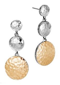 John Hardy Dot Linear Drop Earrings