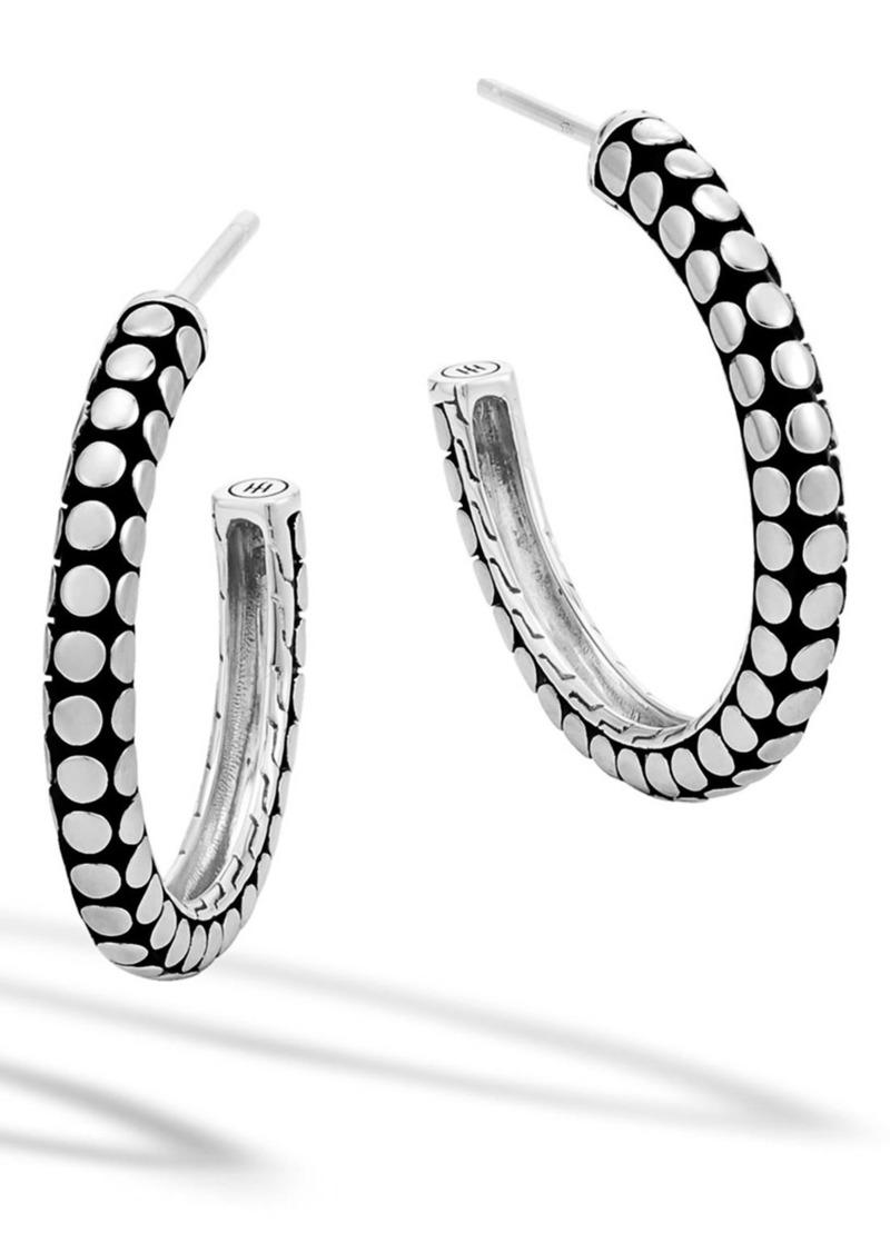 John Hardy 'Dot' Medium Hoop Earrings