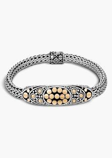 John Hardy 'Dot' Oval Station Bracelet