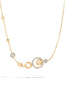 John Hardy Dot Station Diamond & 18K Gold Necklace