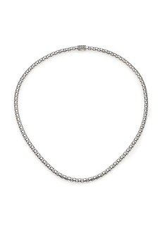 """John Hardy Dot Sterling Silver Small Chain Necklace/18"""""""