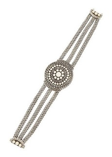 John Hardy Dotted Three-Chain Bracelet