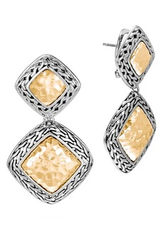 John Hardy Heritage Drop Earrings