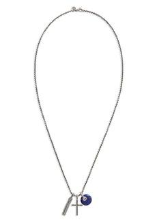 John Hardy Jawan Charm Pendant Necklace