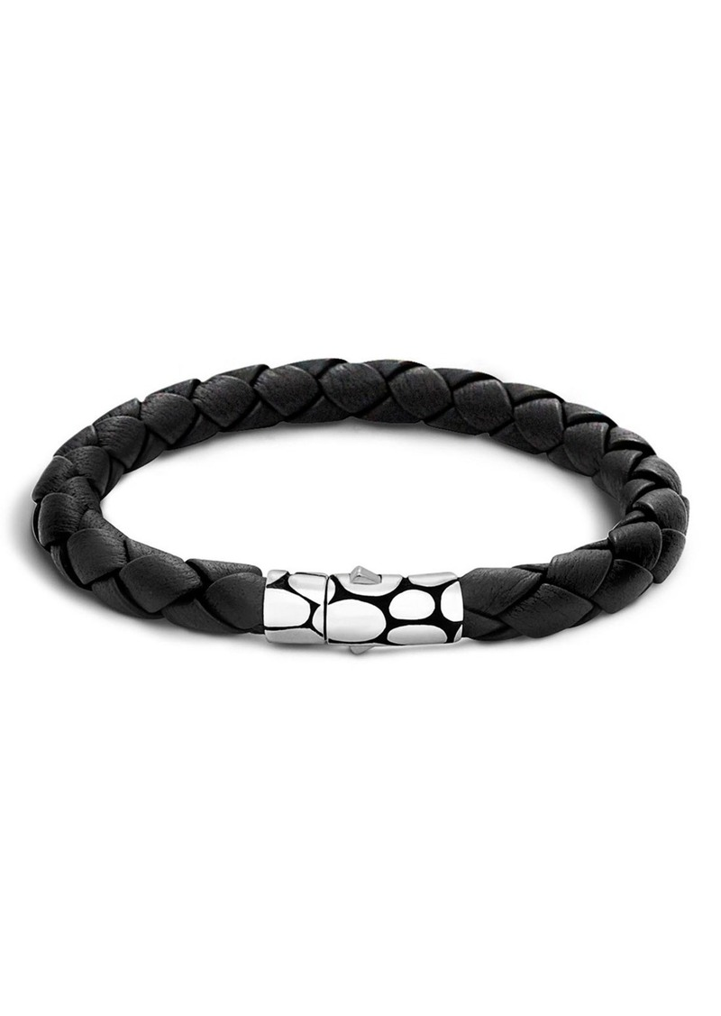 John Hardy 'Kali' Leather Bracelet