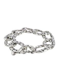 John Hardy Kali Pebbled Flat Link Bracelet