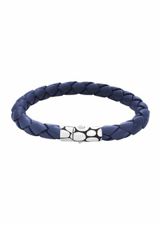 John Hardy Kali Woven Leather Bracelet