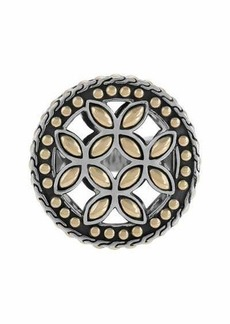 John Hardy Kawung 18K Gold & Sterling Silver Coin Ring