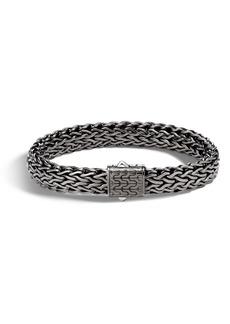 John Hardy Large Flat Classic Chain Bracelet