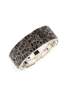 John Hardy Lava Black Sapphire Ring