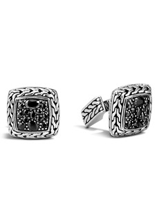 John Hardy Lava Square Cuff Links