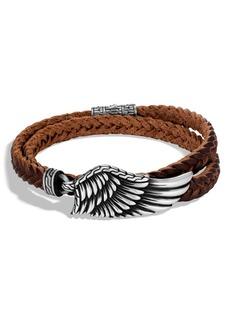 John Hardy Men's Legends Eagle Double Wrap Bracelet