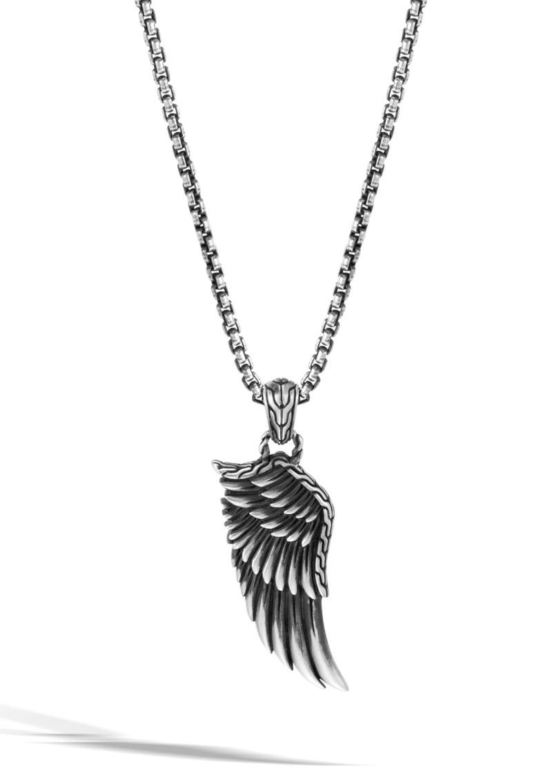 John Hardy Legends Eagle Pendant Necklace