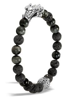 John Hardy Legends Naga Bead Bracelet