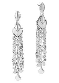 John Hardy Legends Naga Chandelier Stud Earrings