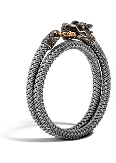 John Hardy Legends Naga Double Wrap Bracelet