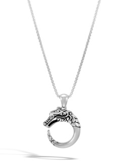 John Hardy Legends Naga Pendant Necklace