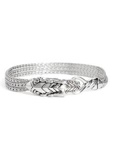 John Hardy Legends Naga Sapphire Multichain Bracelet