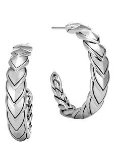 John Hardy Legends Naga Small Hoop Earrings