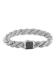 John Hardy Medium Flat Lava Twist Chain Bracelet