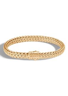 John Hardy Men's 18K Medium Flat Chain Bracelet