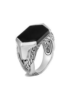 John Hardy Men's Asli Classic Chain Signet Ring