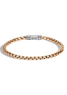 John Hardy Men's Classic Bronze Box Chain Bracelet