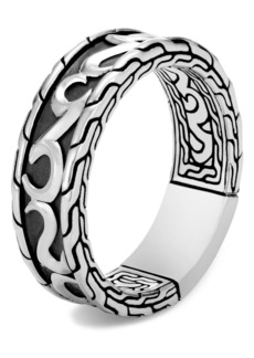 John Hardy Men's Classic Chain Band Ring
