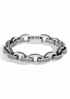 John Hardy Men's Classic Chain Link Jawan Sterling Silver Bracelet