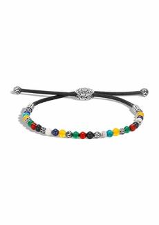 John Hardy Men's Classic Chain Mixed Bead Adjustable Bracelet